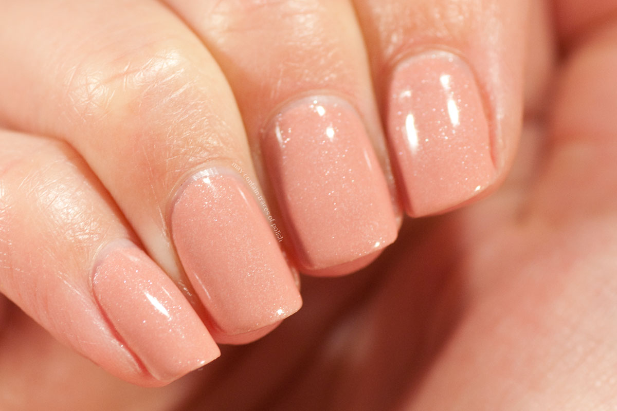 Pink Gellac Boudoir Charm Collection Swatches - 305 Pearly Nude