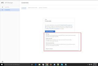 Google Client id