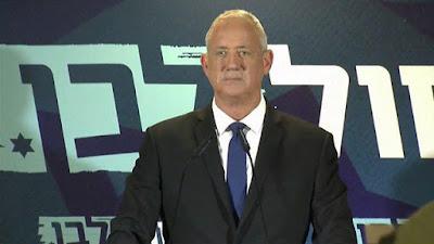 Gantz rejeita proposta de  Netanyahu