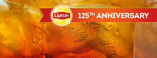 Lipton Tea 125th anniversary