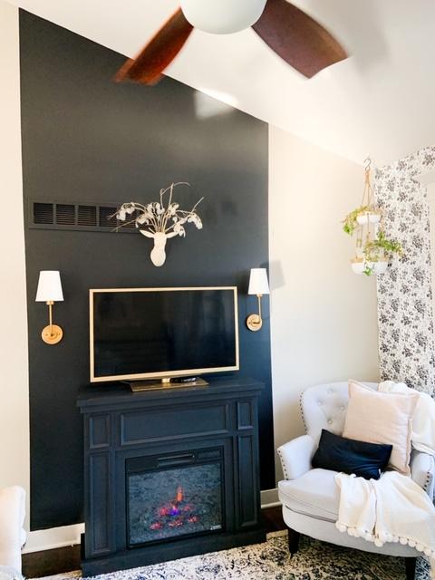 Easy fireplace diy