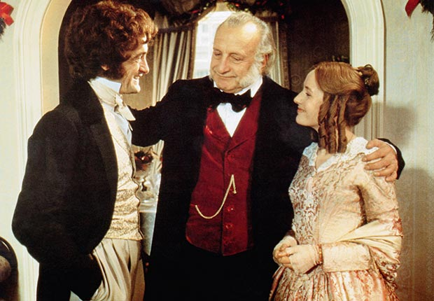 George C Scott A Christmas Carol.Looking Back At A Christmas Carol 1984 George C Scott