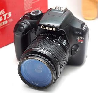 Jual Canon Eos Rebel T3 Bekas