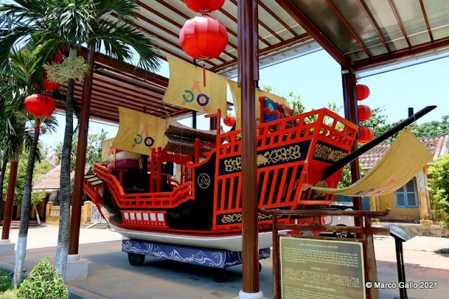 BARCO DE LA PRINCESA NGOC HOA. Hoi An, Vietnam