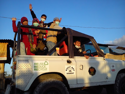 jeep tour melihat sunrise