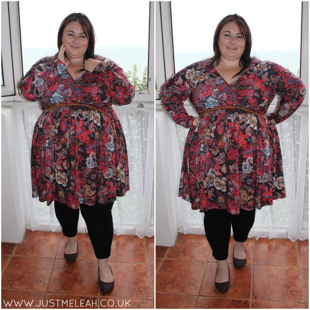 PLUS SIZE AUTUMN WINTER DRESS