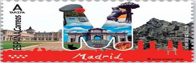 MADRID ya tiene su sello conmemorativo.