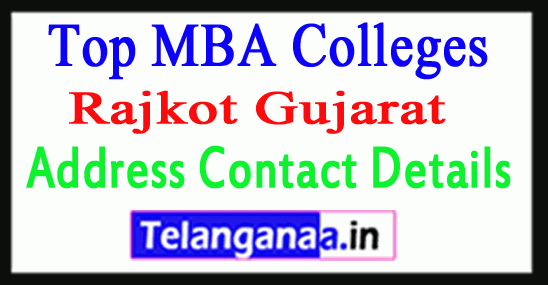 Top MBA Colleges in Rajkot Gujarat