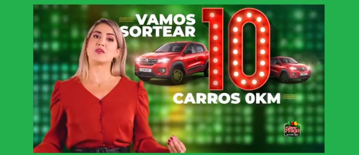 Promoção Rede Menor Preço 2021 Supermercados 10 Carros 20 Anos Aniversário