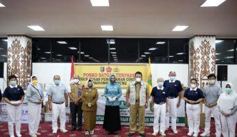 Arinal Terima Bantuan Sembako dan APD dari Yayasan Buddha Tzu Chi, PT Nestle dan Baznas Lampung