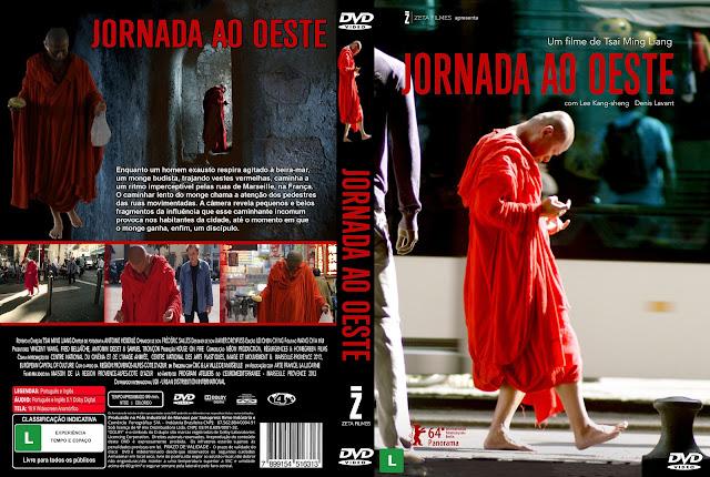 Capa DVD Jornada Ao Oeste