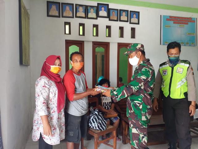 3000 Masker Gratis Untuk Warga Desa Kayumas Jatinom