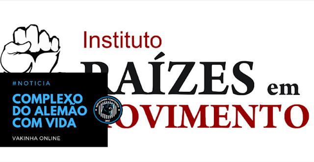 Instituto Raízes em Movimento | CAMPANHA COMPLEXO DO ALEMÃO COm VIDa
