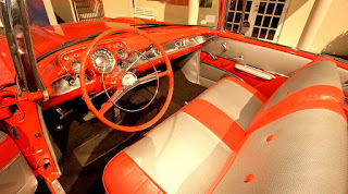1957 Chevrolet Bel Air Convertible Steering Wheel & Interior