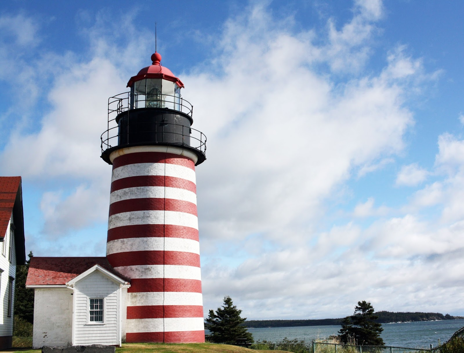 west quoddy head light, lubec maine