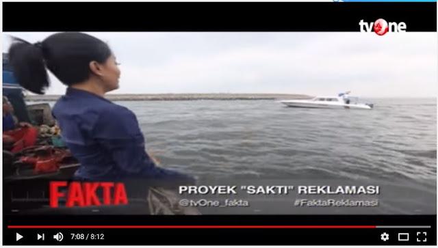 Soal Patroli Pengembang Reklamasi di Teluk Jakarta, Ini Kata Aparat…