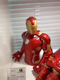 Toy Fair 2020 UK Monogram Bust Banks Marvel Comics Iron Man