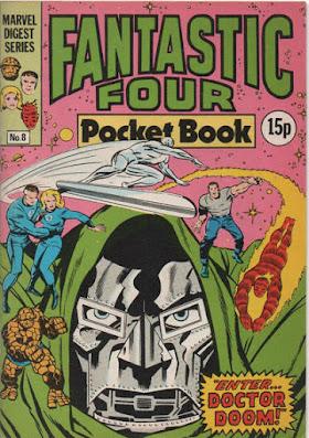 Fantastic Four pocket book #8, Doctor Doom