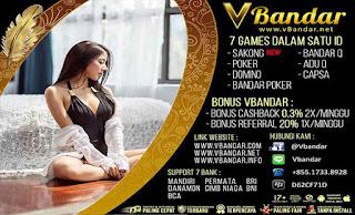 Bonus Referral Judi Poker Online VBandar.info - www.Sakong2018.com