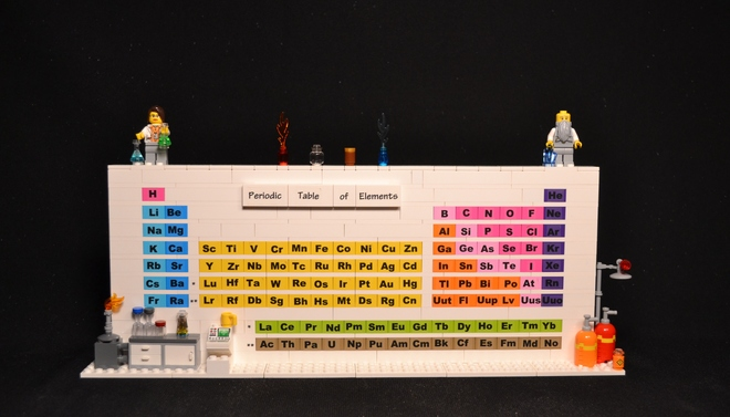 Chemjobber: A Lego periodic table?