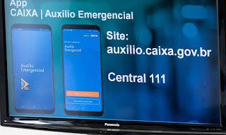 CEF inicia hoje pagamento do 3º lote do auxílio emergencial; confira o calendário