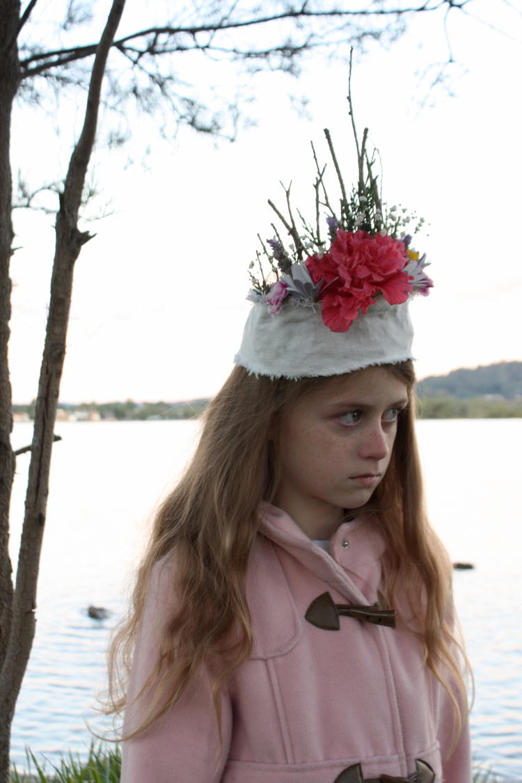 The Happy Home Kids Craft Diy Winter Nature Crown