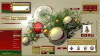 Decorare il desktop a Natale con temi natalizi