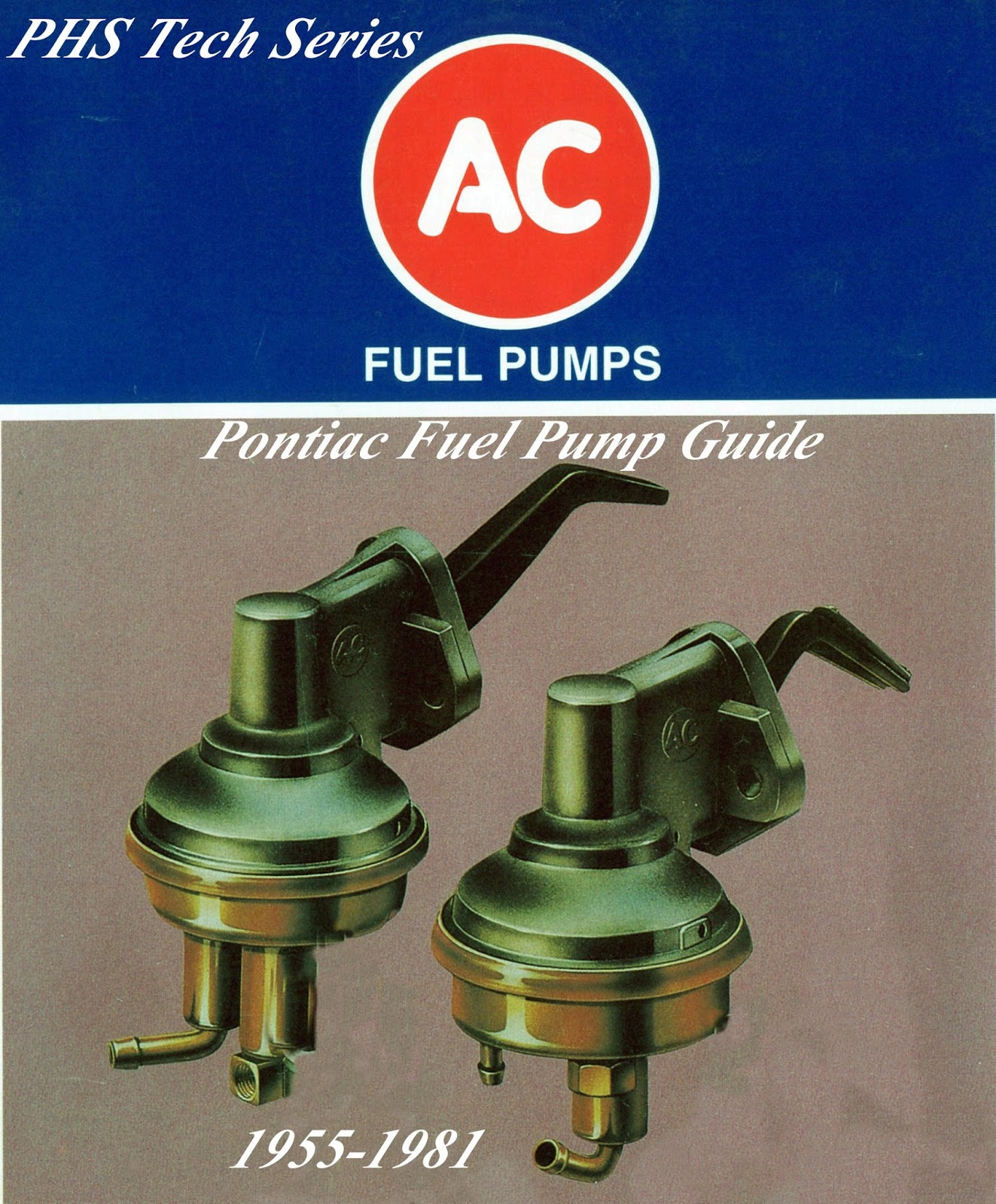 The Delco line of replacement parts was one of the large sources of OEM  style replacement fuel pumps for GM cars in the 1980s and 1990s.