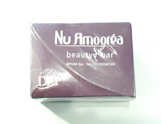Nu Amoorea Beauty Plus Bar 1 Box Isi 3 Sabun 15gr