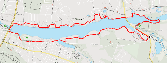 Rundt om Vandkraftsøen i Holstebro All Trails map