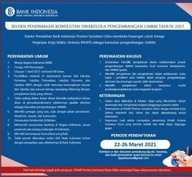 Lowongan Kerja S1 di PT Bank Indonesia (BI) April 2021
