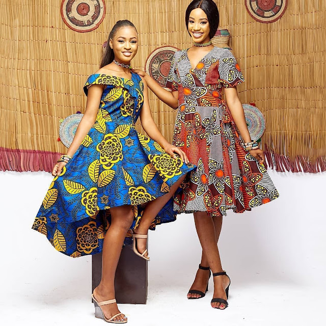 2019 Exceptional Ankara Short Gown Styles