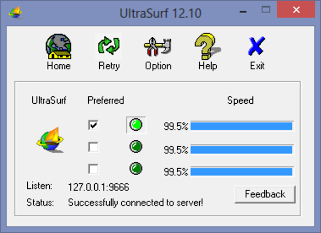 Ultrasurf 12.10 Free Download