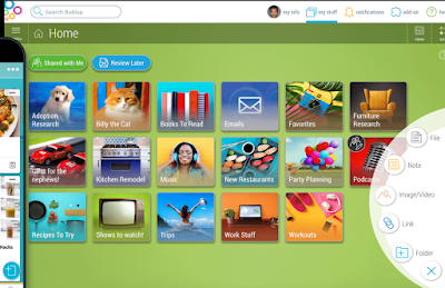 Bublup- A Tool to Insta-Organize Digital Content