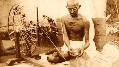 Gandhi szövés, a vezető
