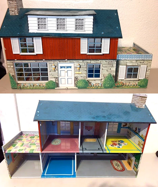 Bidding at online auction -- dollhouse