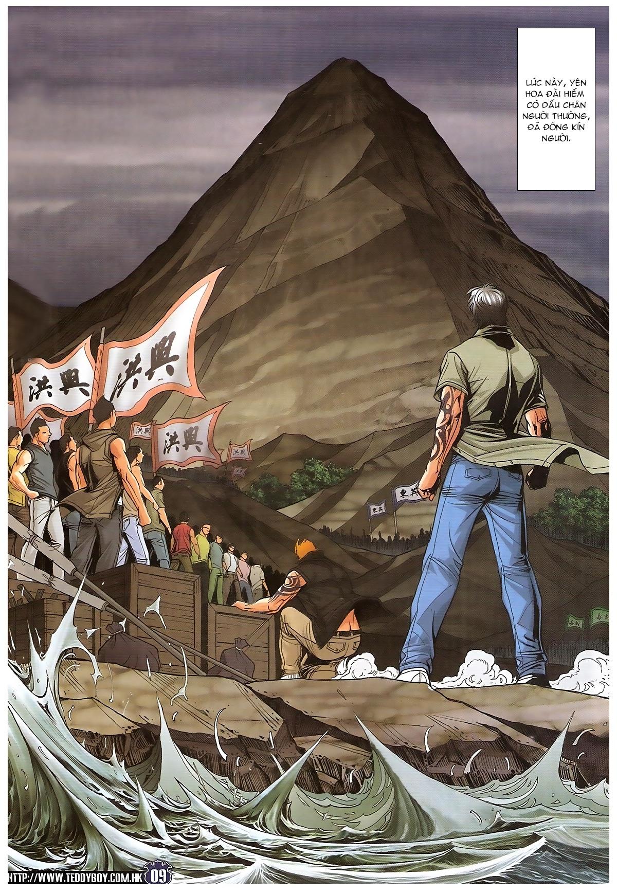 Người Trong Giang Hồ chapter 1829: khai chiến trang 7