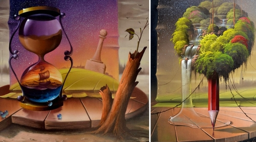 00-Evandro-Schiavone-Fantastic-Paintings-based-in-Surrealism