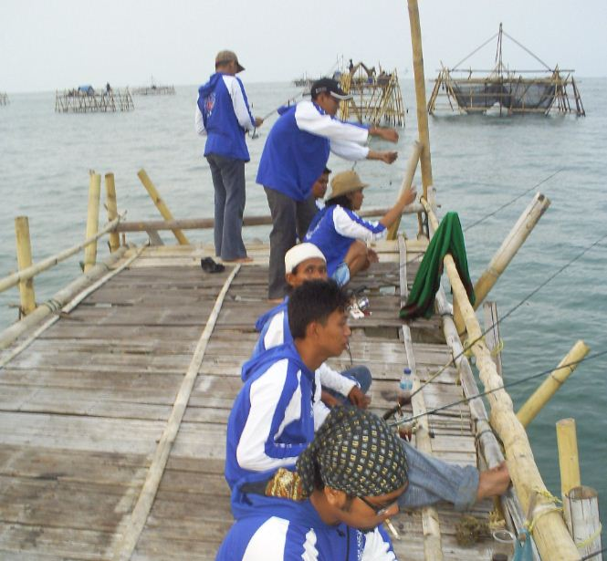 Mancing Di Tanjung Kait Learning Is An Adventure