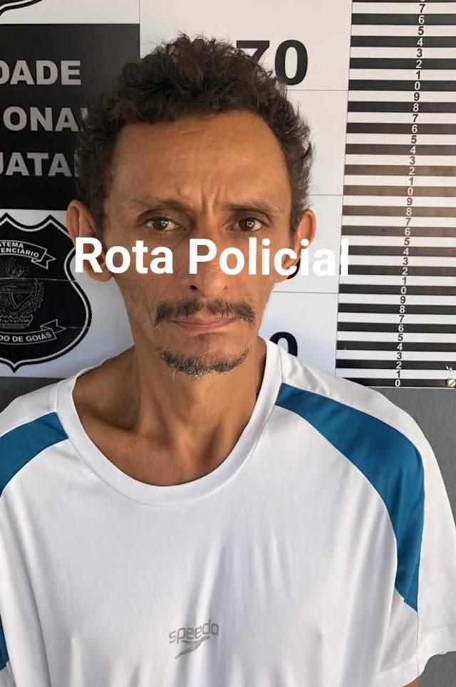 Jataí: Suspeito é preso por furtar residência de vítima acamada