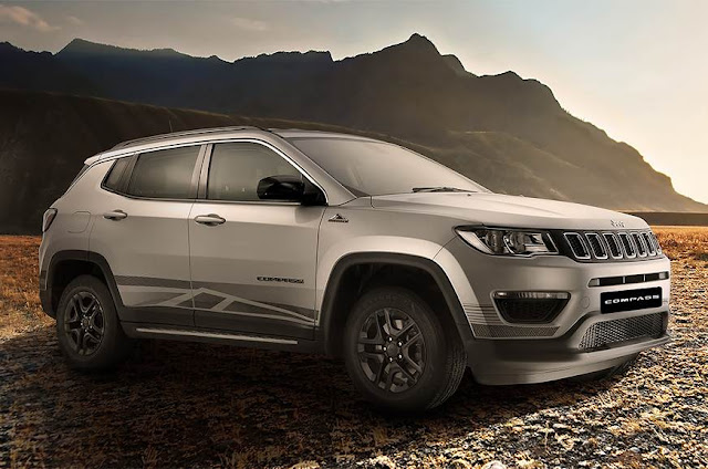 Jeep Compass Bedrock Edition price in india