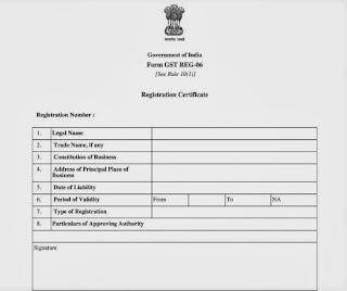 GST Registration Certificate Download