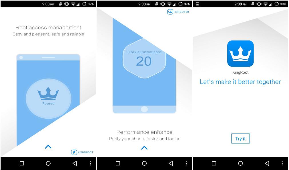 Kingroot v4.9.3 Apk - Aplikasi Root Android Terbaik