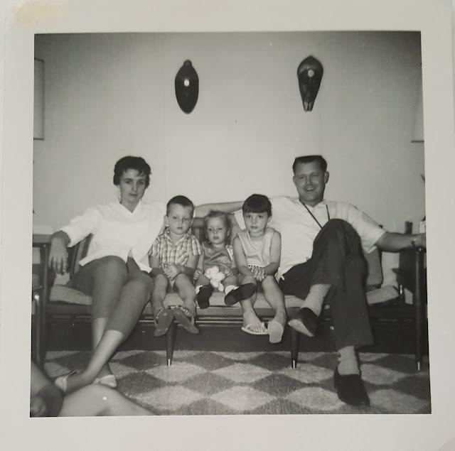 My mid century modern family