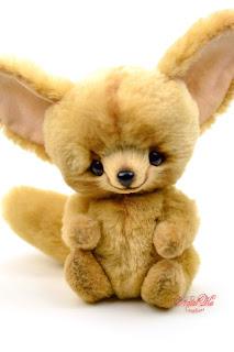 Artist teddy fox, teddy fox ooak, fennec fox, teddies with charm, handmade fox, artist teddy bear, NatalKa Creations, Teddys, Fennek Fuchs, Künstlerteddys, Natalie Lachnitt, тедді іграшка, лисица фенек тедди, Künstler Fuchs, Teddy Fuchs