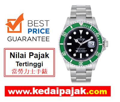 Pajak Rolex (Rolex Submariner Dipajak Dengan RM45,000)