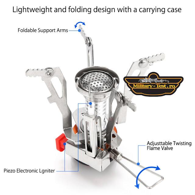 Primus, Aragaz portabil pentru camping, vanatoare, pescuit drumetie