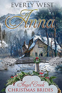 Anna - a sweet western historical romance book promotion sites Everly West
