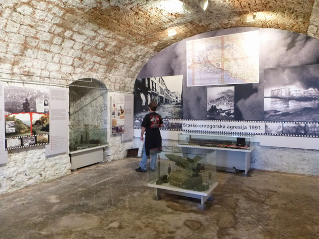 Museu sobre a Guerra da Croácia, Dubrovnik.