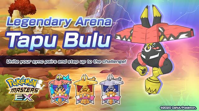 Pokemon Masters EX Legendary Arena Tapu Bulu